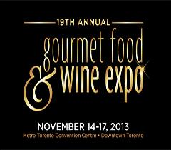Evento Gourmet Food & Wine Expo – Toronto/Canada