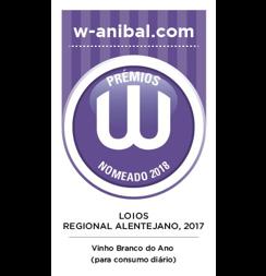 Prémios W (Anibal Coutinho) - Vinho Branco do Ano (Para Consumo Diário) 2018